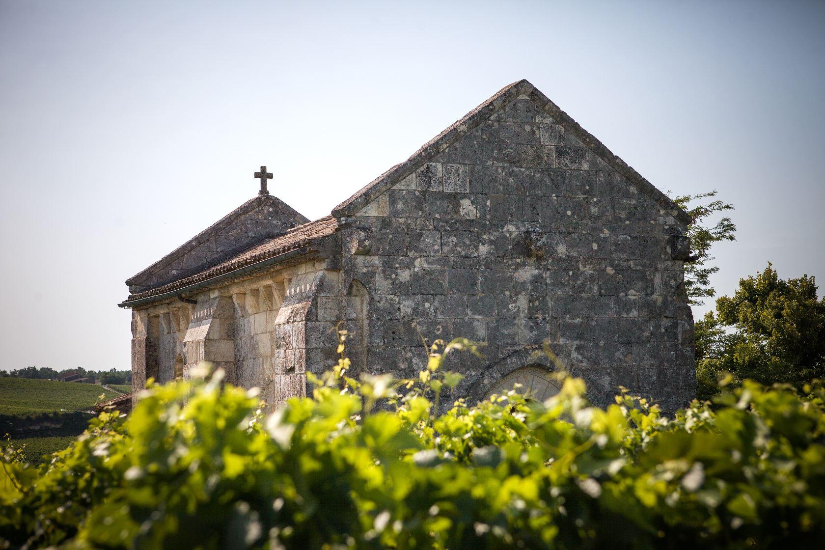 Chapelle romane Ausone