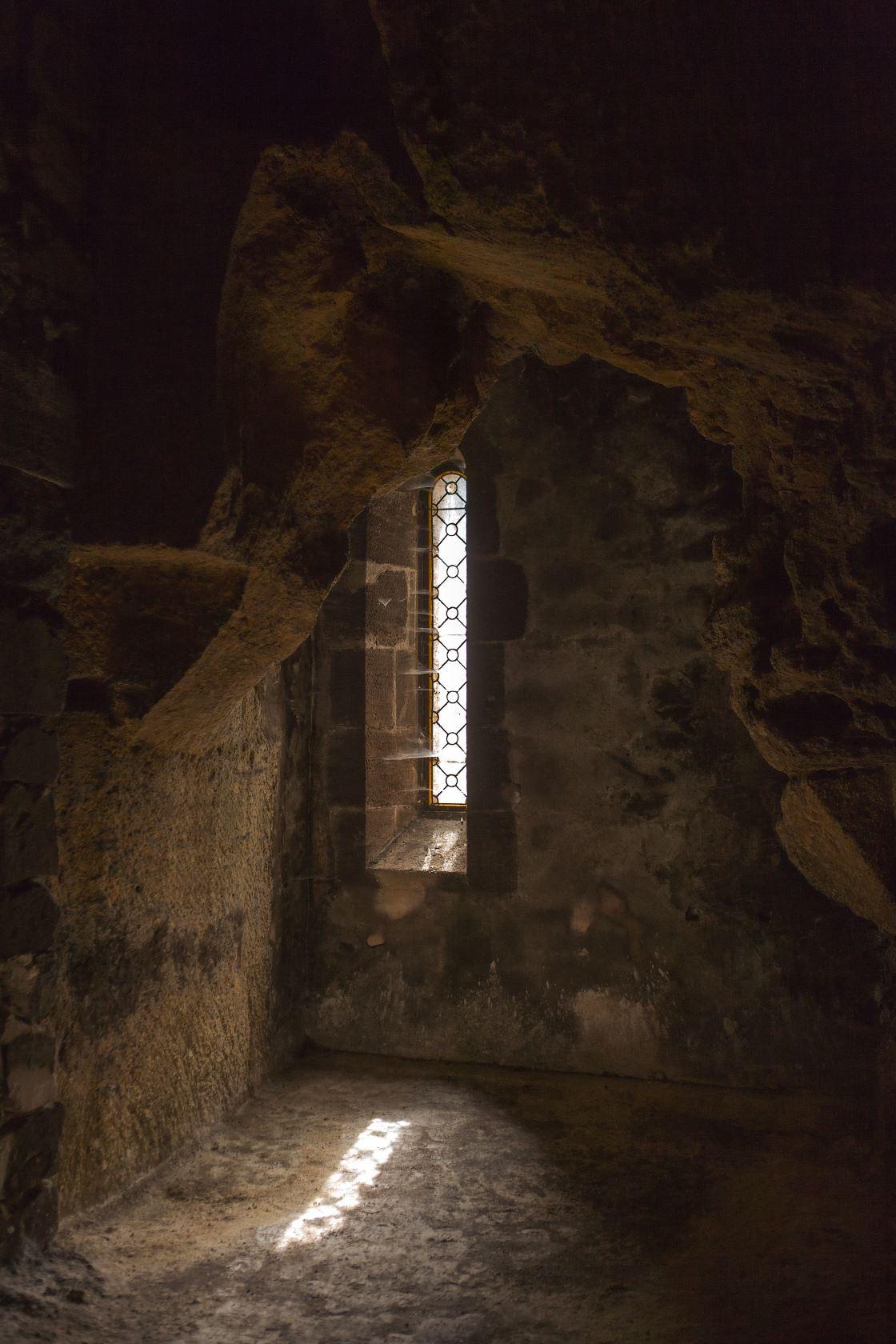 Fenêtre cave château Ausone