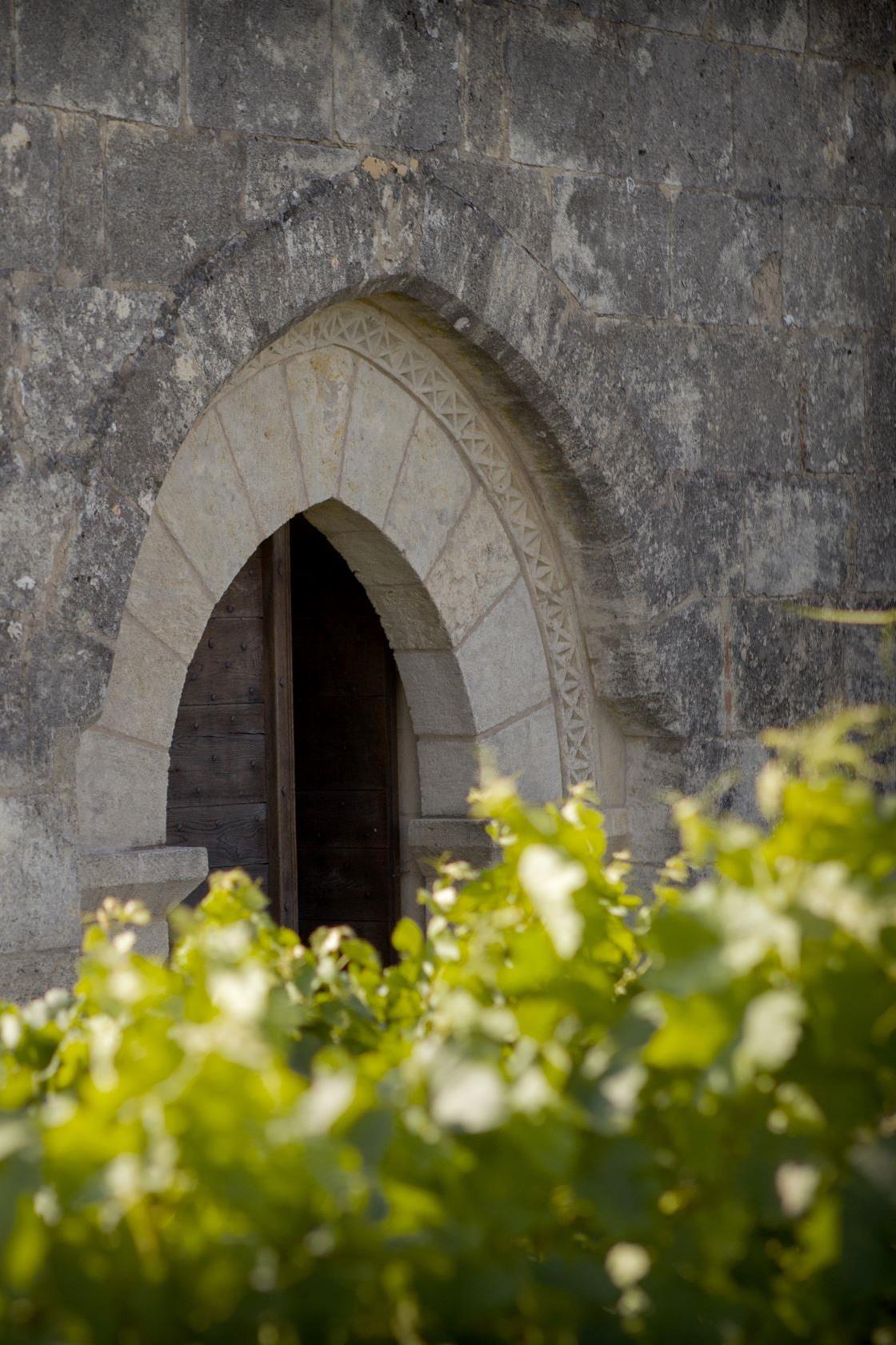 Entrée chapelle Ausone